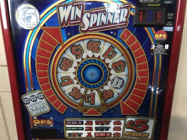 Win spinner disc