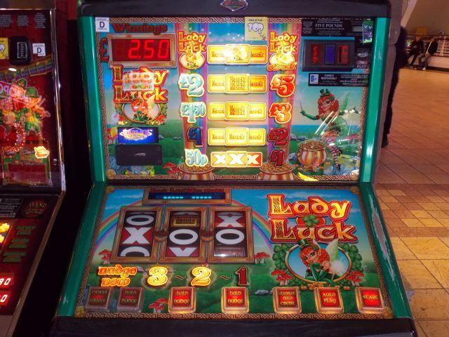 Reflex Luckylady £5 F