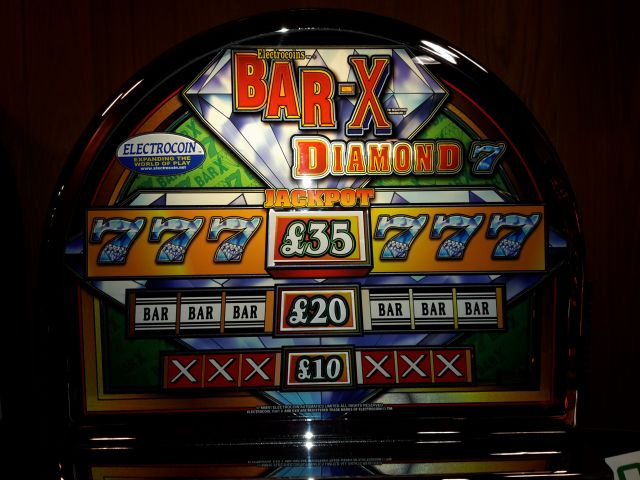 Electrocoins Bar X Diamond £35 T