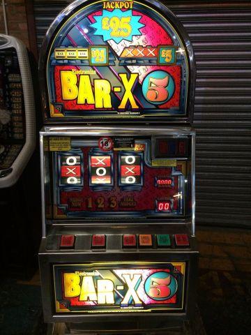 Electrocoin Bar X 5 £25 F