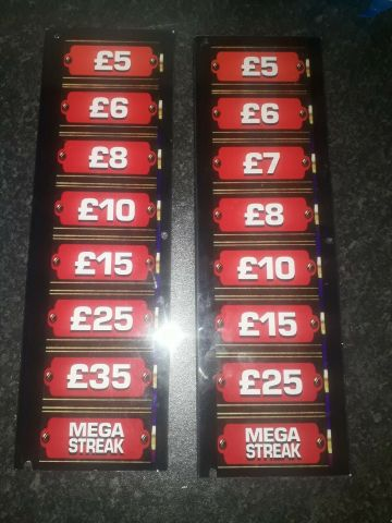 Deal or no deal decals £25-35