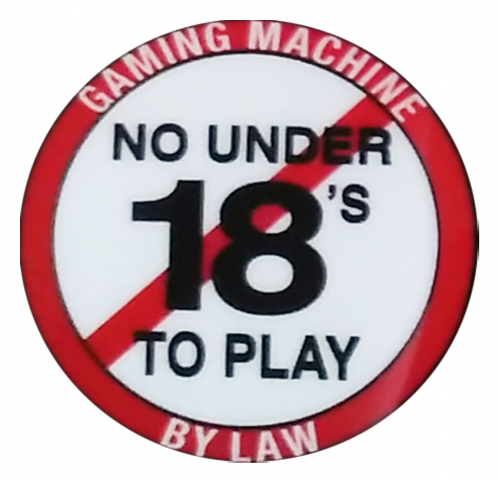 No under 18's decal
