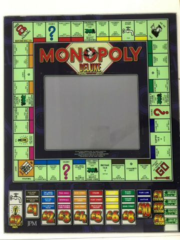 Monopoly deluxe swp top glass