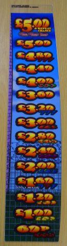 Jailbird Extreme gaming £5 decals