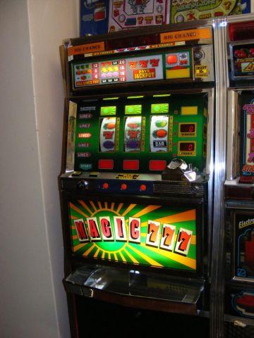 Magic 7 Electrocoin classic fruit machine Gamesroom Croydon