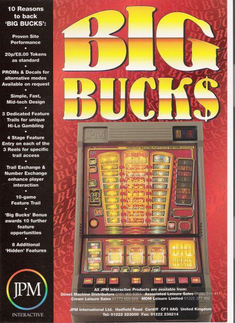 Big Buck$ - Front