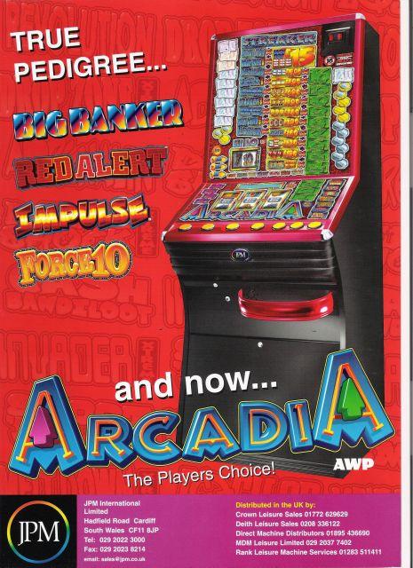 Arcadia - Front