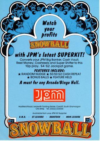 Jpm Snowball back